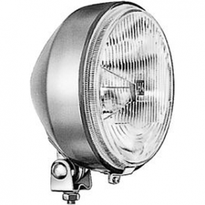 Hella 175mm Diameter H4 ECE Headlamp, External Mount