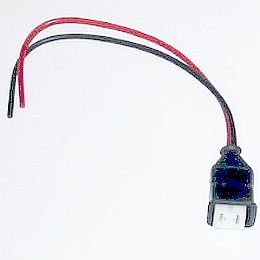 HL87220 Pigtail 200mm W/ AMP Conn 2 Pin