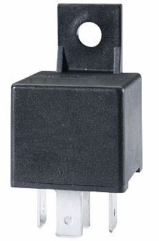 Hella HL87499 Mini Relay, 12V, 20/40A, SPDT with Bracket