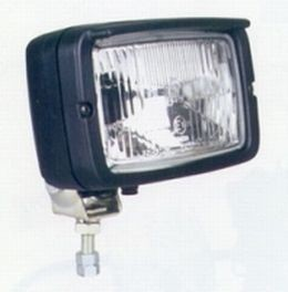 Hella 7145 Series External Fitting Auxiliary H4 ECE Headlamp, W/ City Light, HL95138