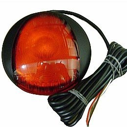 R110 9820 Series EuroLED Round Signal Lamp, MV