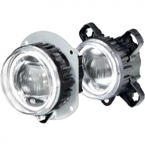Hella 90mm L4060 LED High Beam / Driving Lamp Module with Daytime Running Light and Position Light