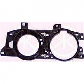 "Hella Headlamp Supporting Frame, BMW 5-Series E34, 7-Series E32 89>94""Smiley"", ECE"