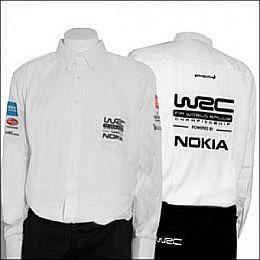 WCRE11096 Official WRC Men's REPLICA RANGE White Shirt