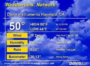 D6555 Davis Instruments WeatherLinkIP Software for Windows