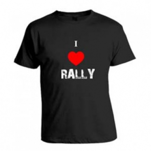 "WCRE11299 Official WRC ""I Love Rally"" T-Shirt"