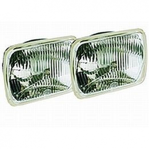 Hella 200mm Rectangular E-code Hi-Lo Conversion Headlamp Kit.