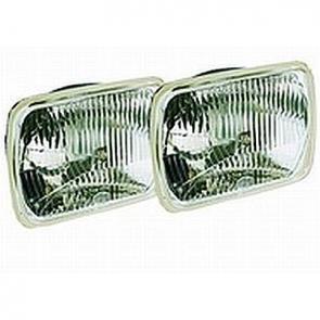 Hella 200mm Rectangular E-code Hi-Lo Conversion Headlamp Kit.