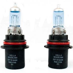9004/HB1, 12v, Hella High Performance Xenon Blue Bulb, Pair