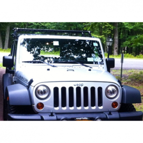 SM6024BXBJ SMS Hella 90mm Bi-Xenon High/Low Headlamp Kit for replacement of Factory H13 2007> Jeep JK Wrangler Headlamps.