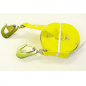 V1341 Snappin Turtle Tow Strap, Snap Hooks on both ends, 27', 10,000#