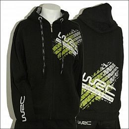 WCRE11094 Official WRC Zipped Logo Hoodie