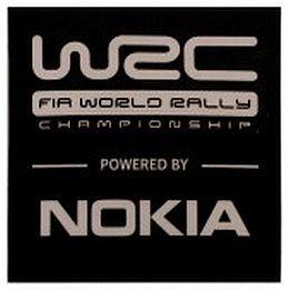 WCRE11268 Official WRC Magnet