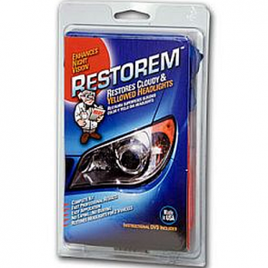RESTOREM – Headlight Renewal Kit for Plastic Lens Restoration Kit