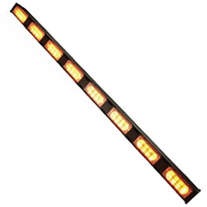 Traffic Stick 8 LED - Amber