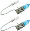 Hella H3, 12V High Performance Xenon Blue Bulb, Pair