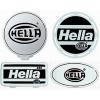 Hella Stone Shield, Black on White Plastic, each