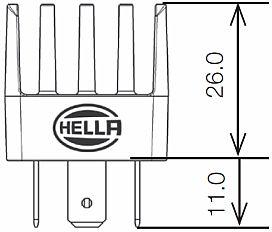 Hella 90mm L4060 Led Fog L  Module With Cornering Light together with Hella Powerbeam 2000 Close Range Led Work L further Dodge Ram Led Fog Lights in addition 1962 1963 1964 CITROEN ID 19 62 63 64 WIRING DIAGRAM 282491576232 in addition 2003 Kia Optima Fuse Box Diagram. on rover fog lights wiring diagram